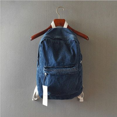 Fashion Couple Backpack for Girls And Boys Travel Denim Backpack Students Computer Backpacks for Women Rucksack Style 3 Colors