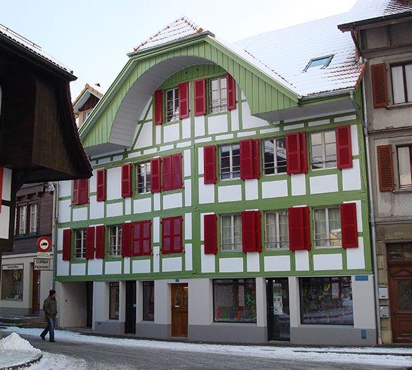 Renovation Bern | Vifian Partner  Wellenried 6 3150 Schwarzenburg  Tel: 031 731 13 13 Fax: 031 731 29 23 E-Mail: urs.vifian@vifian-architekten.ch