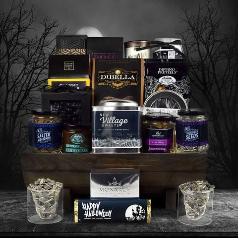 Super Spooky Gift Basket