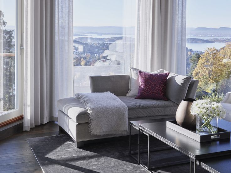 Living room, Private Villa - Designed by Norwegian Interior Architect firm Metropolis arkitektur & design - www.metropolis.no