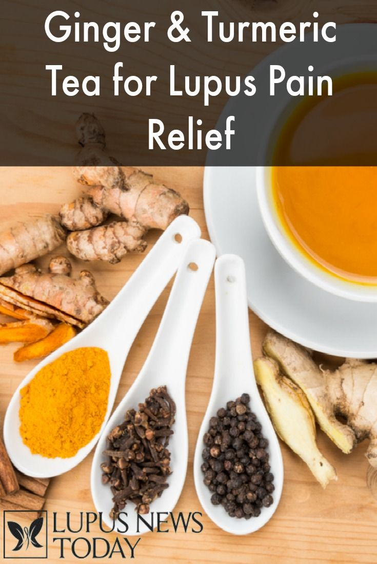 Ginger and turmeric both have anti-inflammatory properties, so we're sharing a recipe for an anti-inflammatory tea to help manage your Lupus symptoms.