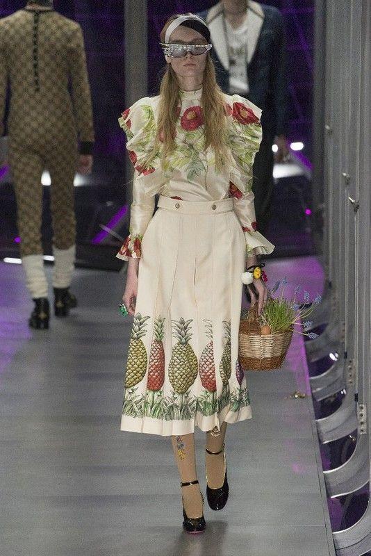 Милан: Gucci осень-зима 2017-2018: myfashion_diary