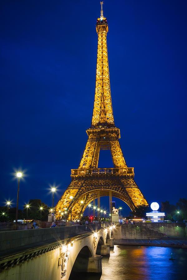Go visit the Eiffle Tower, Paris