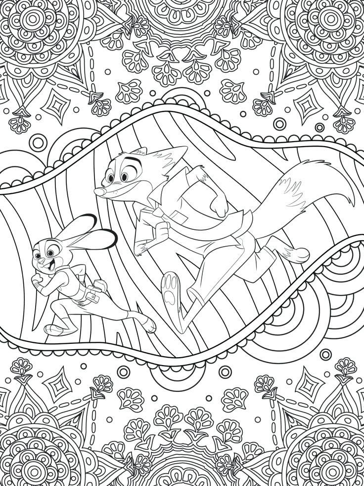 Free Printable Disney Coloring Pages For Adults Best Coloring Pages For K Pdf Zootopia Coloring Pages Disney Coloring Pages Free Disney Coloring Pages