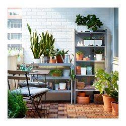 """$99, glass doors!  Height: 56 3/4 """" Width: 24 3/4 """" / 24 3/4 """", HINDÖ Greenhouse/cabinet, indoor/outdoor - IKEA"""