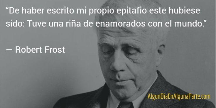 El 29 de enero de 1963 #TalDíaComoHoy falleció el poeta estadounidense Robert Frost, 4 veces Premio Pulitzer de literatura.