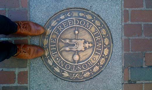 #1. Freedom Trail  Top 10 Tourist Attractions in Boston – Things To See in Boston