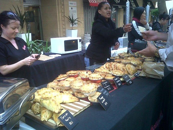 The Earth Fair Food Market on St George's Street Mall on Thursdays. #thumbsup