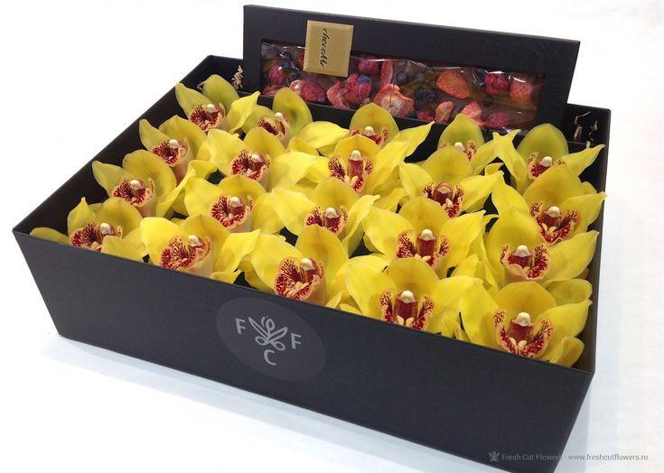 Орхидеи и шоколад chocoMe.