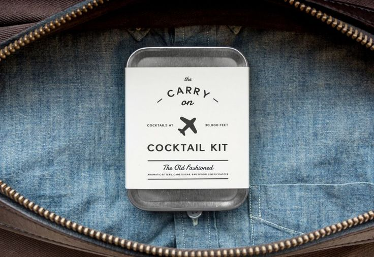 Carry On Cocktail Kits Make Your Airplane Drinks Much Better