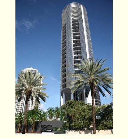 New Construction: The Porsche Design Tower in Sunny Isles Beach, Florida. 1-888-242-4422