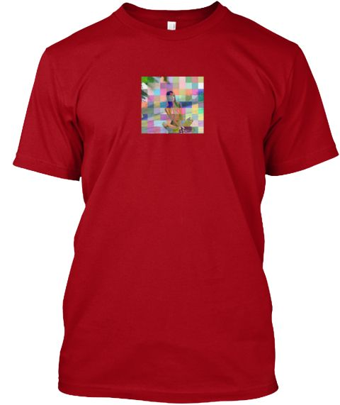 Inklicious Deep Red T-Shirt Front
