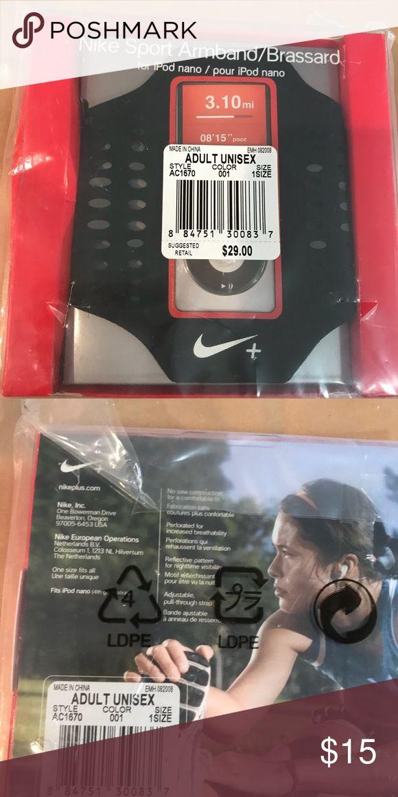NIKE IPOD NANO  SPORTS ARMBAND CASE NEW IPOD NANO SPORTS ARMBAND FOR YOUR EXERCISE ROUTINE Nike Accessories Phone Cases