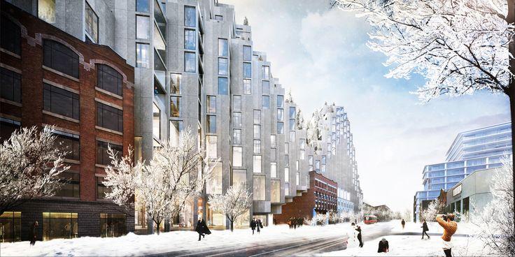 Gallery of BIG Designs Moshe Safdie-Inspired Habitat for Toronto - 2