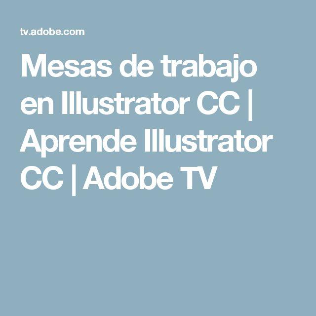 Mesas de trabajo en Illustrator CC | Aprende Illustrator CC | Adobe TV