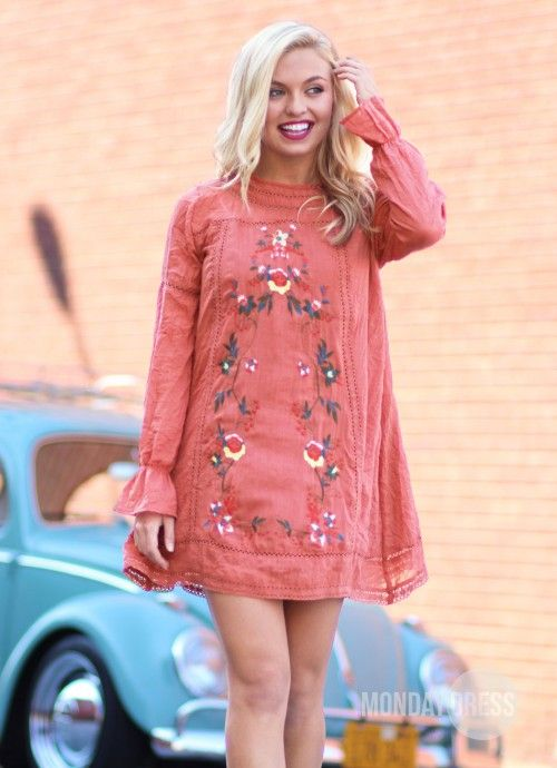 By Your Side Dress in Sunset | Monday Dress Boutique
