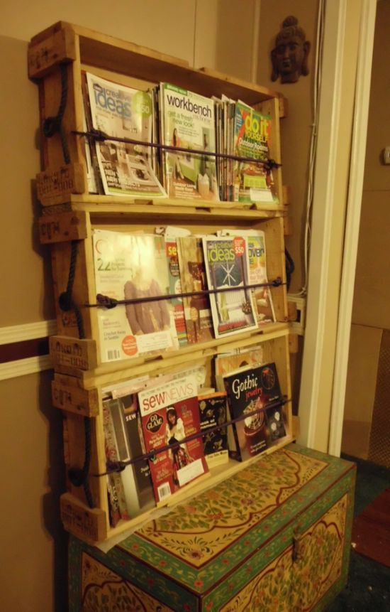 Wooden Magazine Rack Plans Woodworking Projects Amp Plans