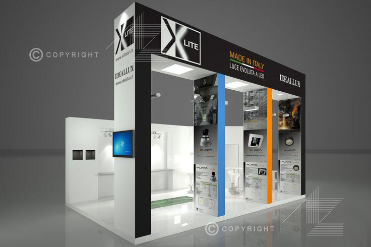 Render Stand - XLite - Cibustec - 2014 - Parma - 40 mq - settore illuminazione