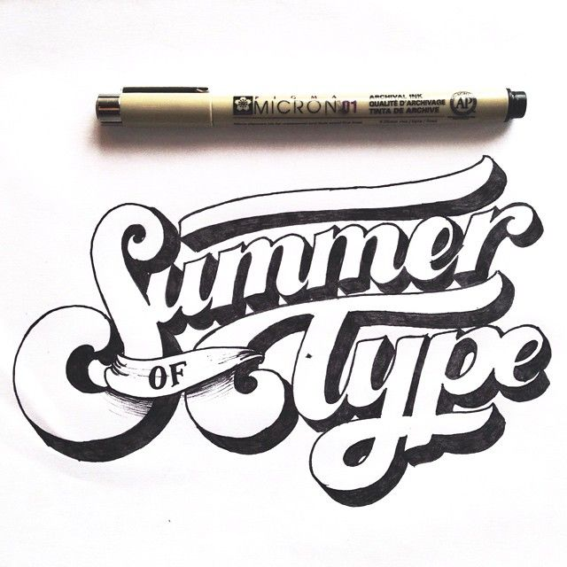 Hand Drawn Type Lettering Styles Typography Letters Graphic Design Typo Logo Inspiration