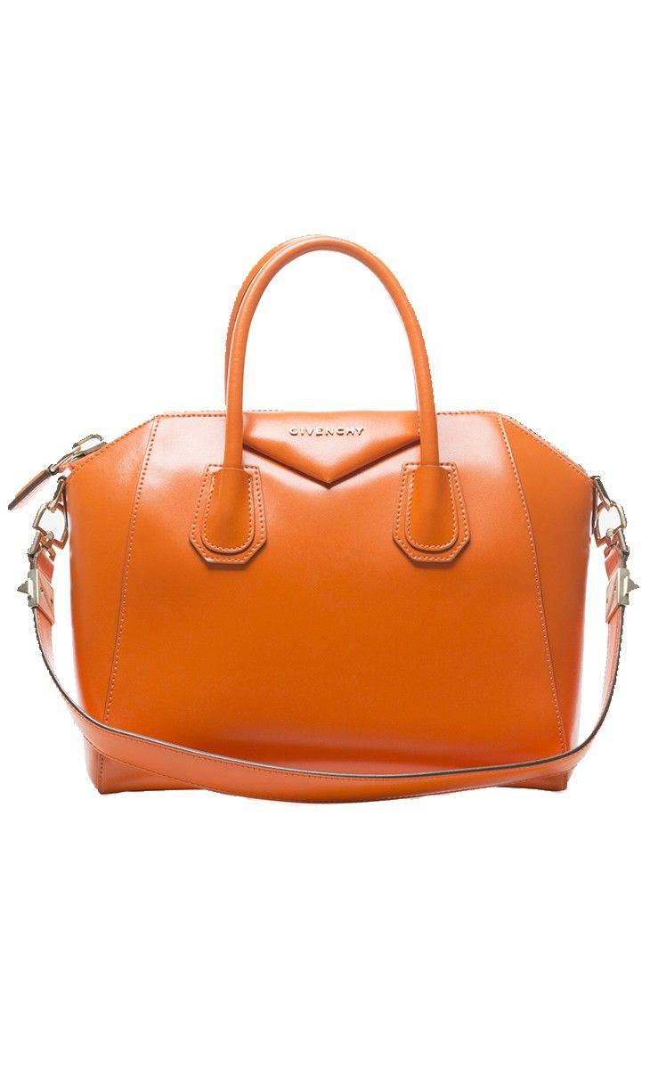 Givenchy Orange Leather Bag l Vaunte