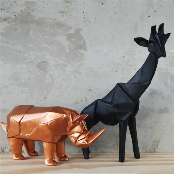 Coming in an assortment of colours, these Geo Animals from White Moose will stand out in your shop window. #lifeinstyle