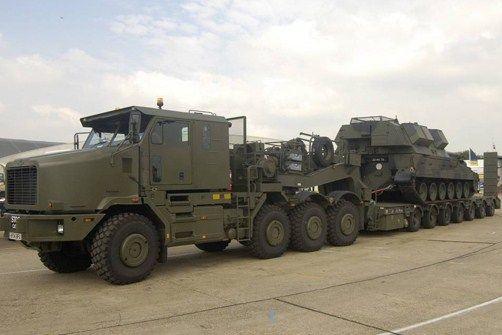 OSHKOSH M1070 - British Army