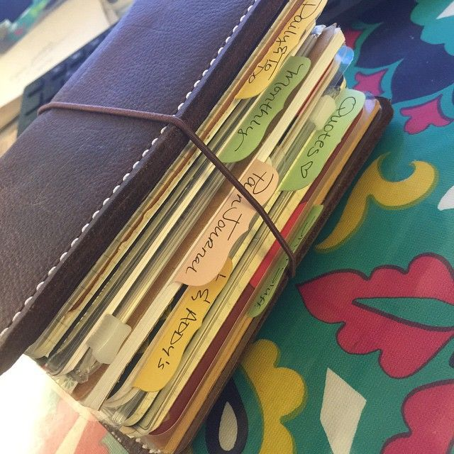 My chunky #travelersnotebook from #speckledfawns @speckledfawns
