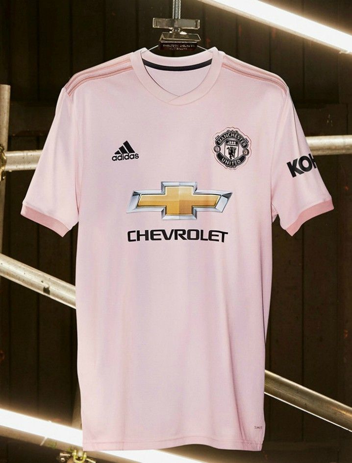 new style 8d5e5 a5bd1 adidas Unveil Pink Man Utd Away Kit for the 2018/2019 Season ...