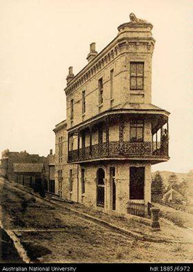Excelsior Hotel, Darlinghurst, 1883 Did 'old' buildings ever look new??