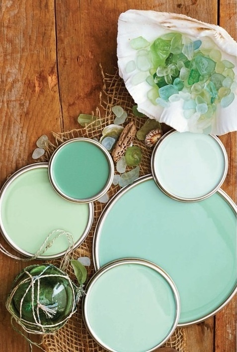 verde  mentaGlasses Painting, Bathroom Colors, Colors Palettes, Colors Schemes, Paint Colors, Bedrooms, Painting Colors, Seaglass, Sea Glasses