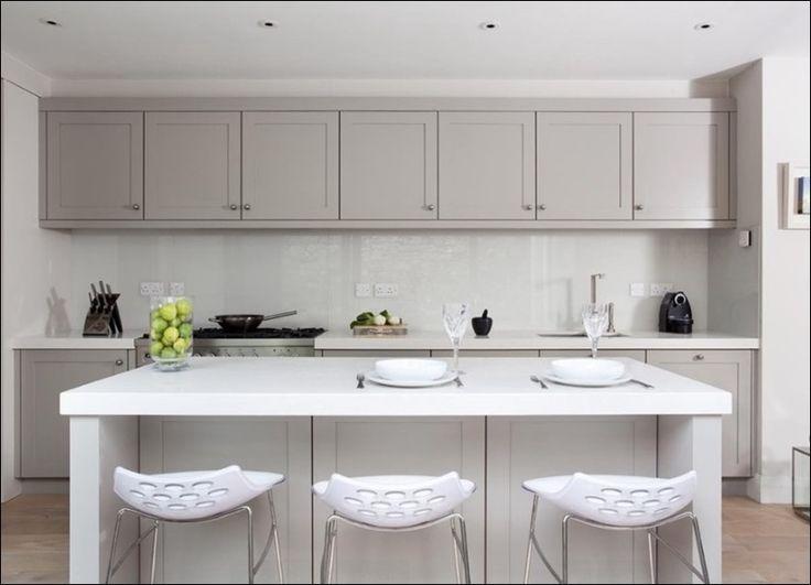 Цвет современных кухонных шкафов