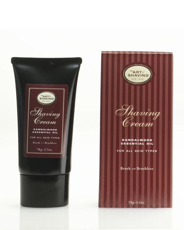 The Art of Shaving Tube Shaving Cream With Sandalwood Essential Oil