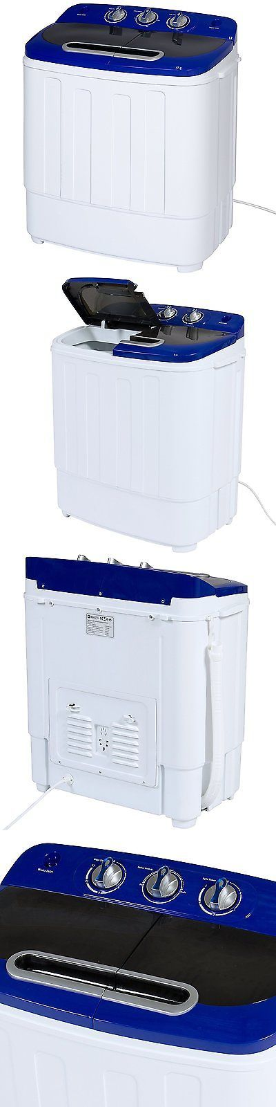 Washing Machines 71256: Best Choice Products Portable Compact Mini Twin Tub Washing Machine, Spin Cycle -> BUY IT NOW ONLY: $112.58 on eBay!