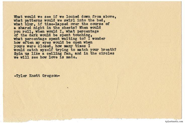 Typewriter Series #1330 by Tyler Knott GregsonCome say hello @TylerKnott on Instagram, Facebook, and Twitter!