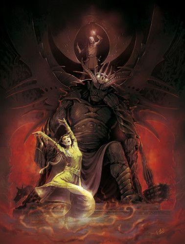 Lúthien and Morgoth | Lùthien et Beren (Tolkien)