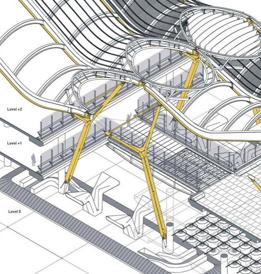 Madrid Barajas Airport, Richard Rogers + Partners   Compo 3T