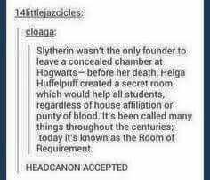 Brilliant! Yes, headcanon accepted!