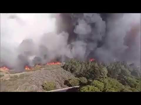 Incendio de GC a vista de helicóptero  https://youtu.be/vQGYHvRW9C8  Incendio de septiembre de 2017 en Gran Canaria visto desde un helicóptero.