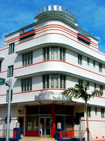 Sherbrooke Hotel, Art Deco District, Miami, Florida