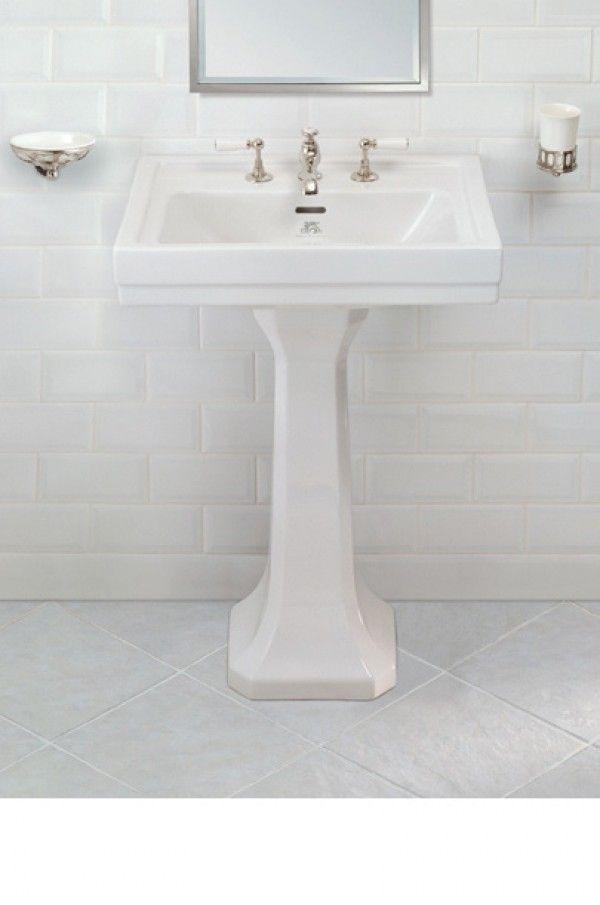 Lefroy Brooks basin and Pedestal | Basin and Pedestal.