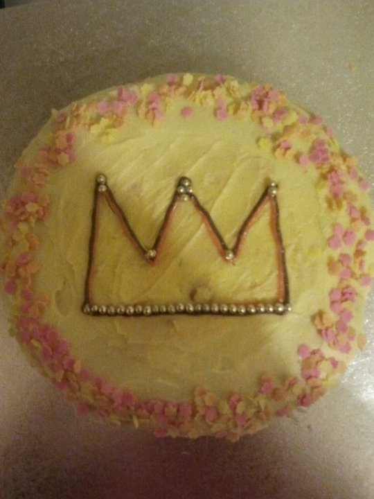 Queens birthday cake for playgroup