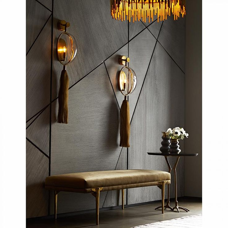 Aramis Sconce Interiors Pinterest Sconces, Bench and