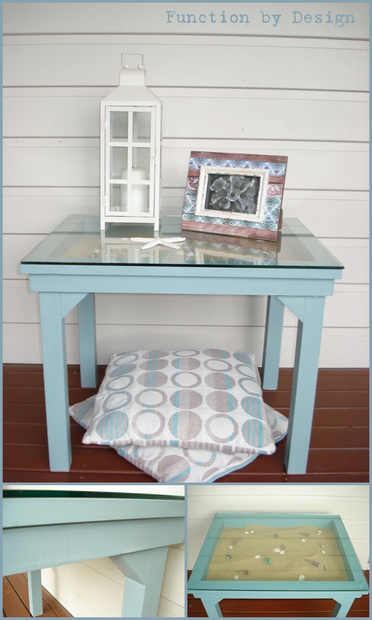 """This is my version of """"Seaweed and Sand"""". Heaven! #furniture #anniesloan #ascp #anniesloanchalkpaint #coastal #beach #sand #functionbydesign"""
