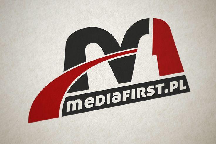 "2014, Logo for Agnecy ""MediaFirst"", webgrafika.pl"