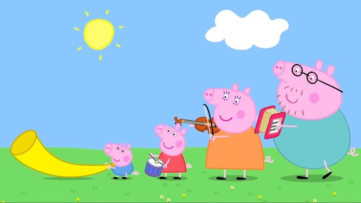 ✔️Peppa Pig 16 🔺Musical Instruments🔻 NEW MUSIC LESSON #153