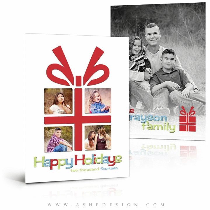 Best Holiday Photoshop Templates Images On