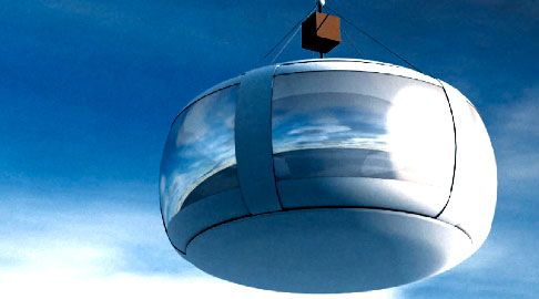 A Zero2infinity quer realizar experiências aeroespaciais por meio de um balão gigante de gás hélio, chamado Bloon. A criação promete chegar a 36 mil metros acima da Terra (22 milhas), com uma vista panorâmica de cerca de 1.400 quilômetros em diâmetro do nosso planeta.