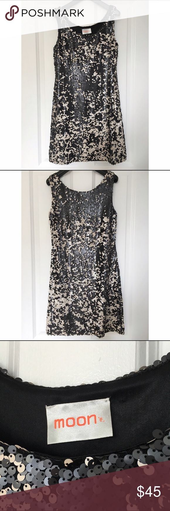 Selling this FLASH SALE - black and white sequin dress - nwot on Poshmark! My username is: janeelookerse. #shopmycloset #poshmark #fashion #shopping #style #forsale #Dresses & Skirts