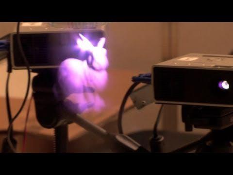 3D fog display with pico projectors.