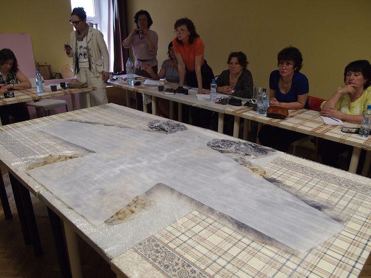 Фотоотчет о семинаре Светланы Болюх. Арт-куртка из флиса